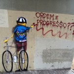 """""""Order and progress??"""" There is some incredible street art here! More to come :)"""